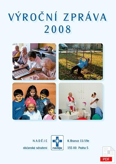 Výroční zpráva 2008