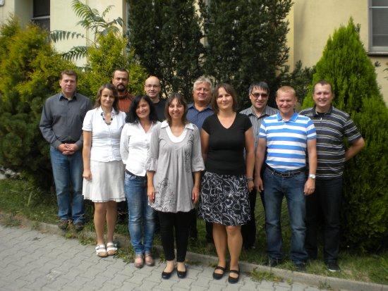 Ředitelská rada po valné hromadě v roce 2013